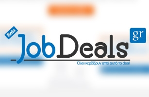 Website Design and Development of Jobdeals.gr